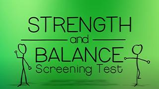 Introduction to balance & strength testing