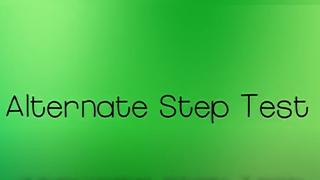 Step test
