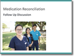 Medication Reconciliation Education Package